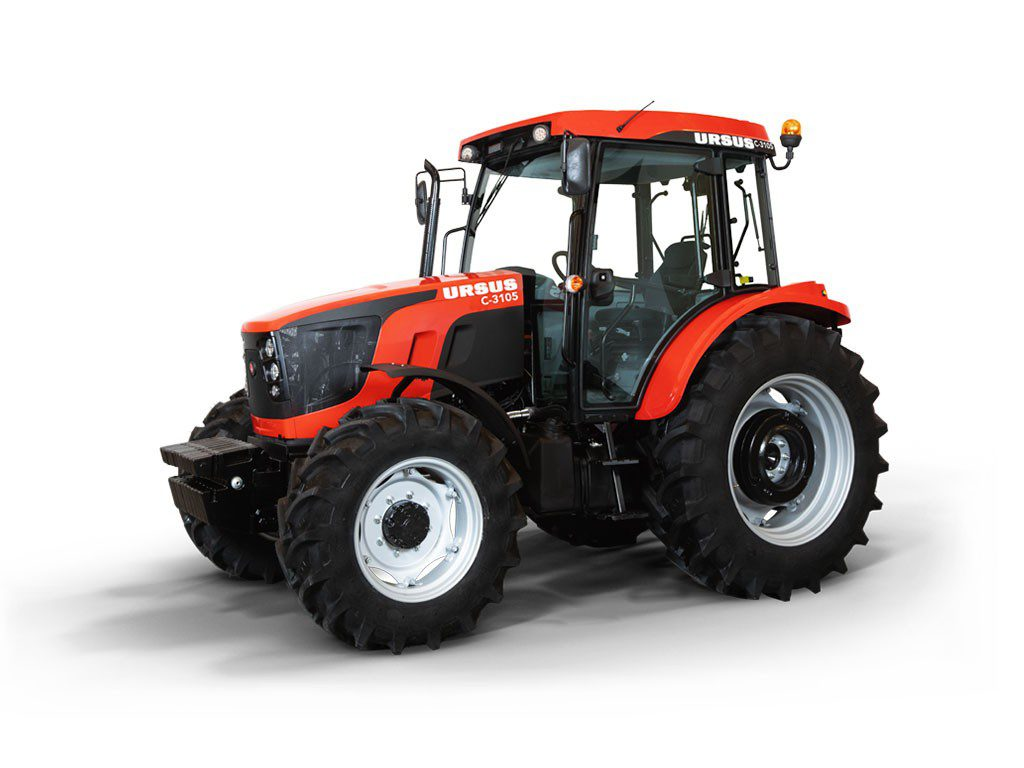 Ursus C-3105 – PERKINS 854E – E34TA EU IIIB – Turbodiesel – 75 kW / 102 PS